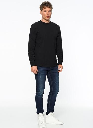 Vans Uzun Kollu Tişört Siyah